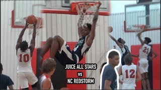 AJ Thompson und Saiquone Harris SPIELT! Saft-All-Stars vs NC Redstorm