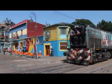 The colorful neighbourhood of La Boca (Buenos Aires - Argentina)