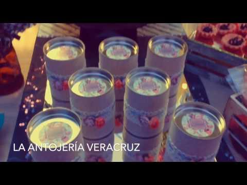 Mesa de dulces Vintage XV años La Antojería