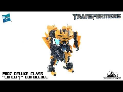 "Optibotimus Looks Back Episode 08: 2007 Transformers Deluxe Class ""Concept"" BUMBLEBEE"