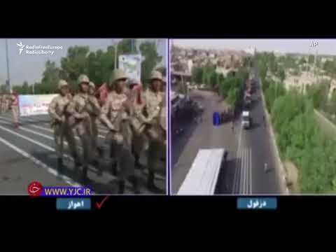 Gunmen Attack Military Parade In Iran