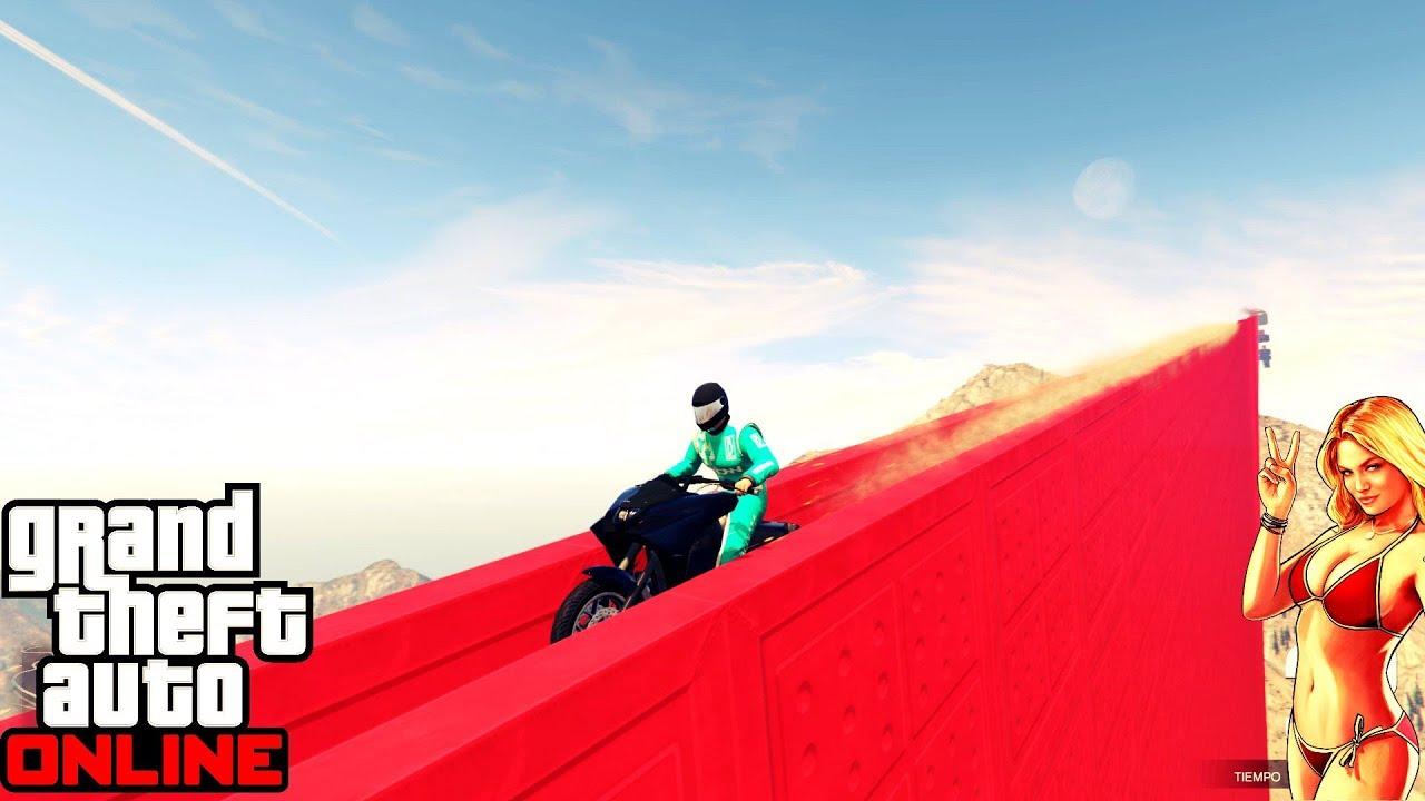 Grand Theft Auto V Online ქართულად მუტაციური რბოლები ვეშვებით ჩილიადის მთიდან ქალაქამდე D
