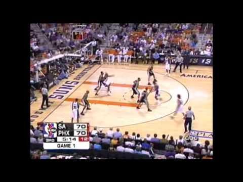 Phoenix Suns vs San Antonio Spurs Game 1 2005 WCF Full Higlights