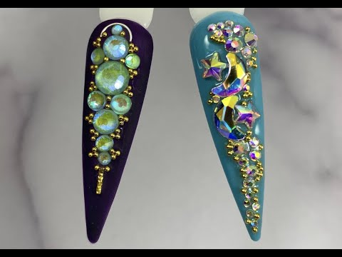 Full Live Tutorial: Glow In The Dark, Metallic Beads & #GlitzCrystals