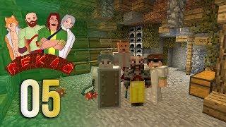 ПЕКЛО #5 - Подземная база   Выживание в Майнкрафт с друзьями