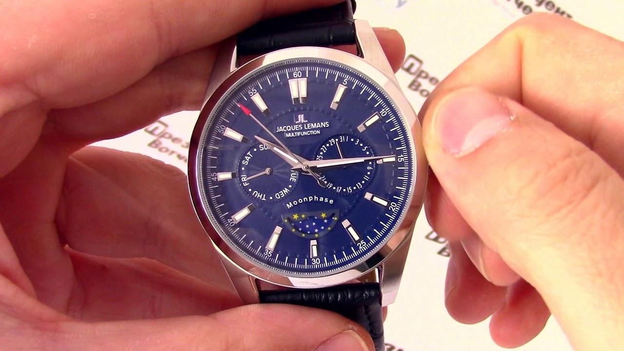 Мужские часы Jacques Lemans 1-1901B Мужские часы Swiss Military Hanowa 06-4286.13.007