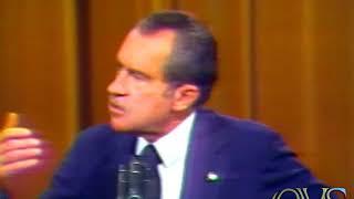 KNXT-2 1973-4 Nixon Press Conference Chicago...