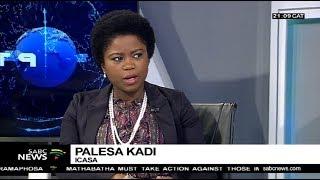 ICASA's Palesa Kadi sports broadcasting rights