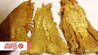 Mẹo loại bỏ lưu huỳnh trong măng khô   VTC