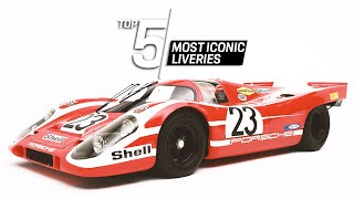 Porsche Top 5 Series: Most Iconic Liveries