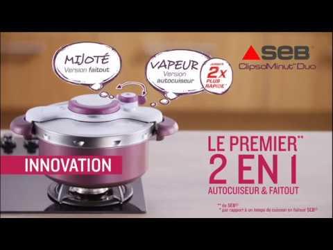 vendu dans le monde entier différents types de véritable Test et avis autocuiseur Clipso Minut' Duo de SEB : achat au ...