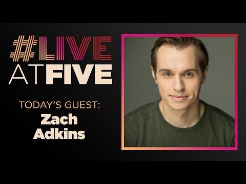 Broadway.com #LiveatFive with Zach Adkins of ANASTASIA