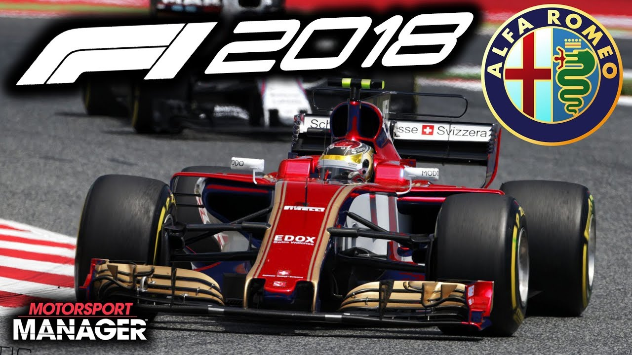 f1 2018 alfa romeo manager career can we beat mclaren part 5 youtube. Black Bedroom Furniture Sets. Home Design Ideas