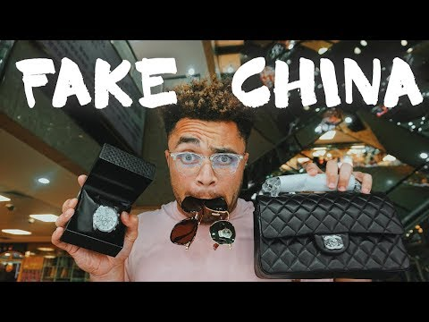CHINA'S FAKE SHOPPING MALLS (yeezys, chanel, gucci, prada) - 092