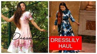 HUGE DRESSLILY Try On HAUL   PARTY DRESS HAUL   Deblina Rababi