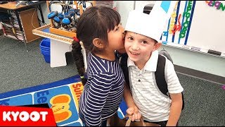 When Your Crush Tells You A Secret | Funny Kids In Love Compilation