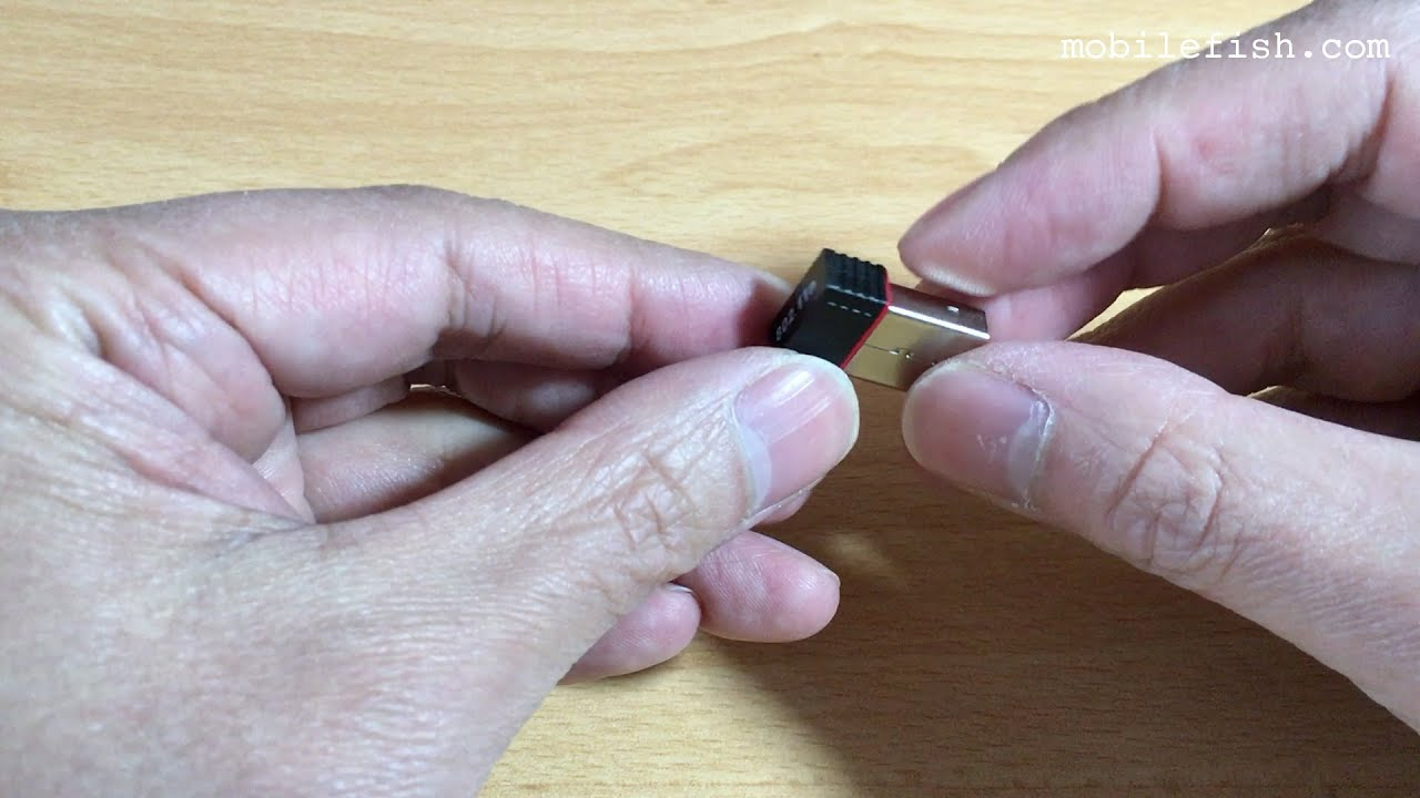Realtek RTL8188 150Mbps USB WiFi wireless adapter from Banggood com