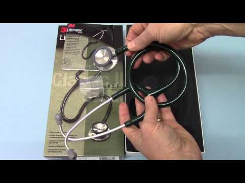 Littmann 3M Classic II SE Hunter Green what you get manufacturer pack