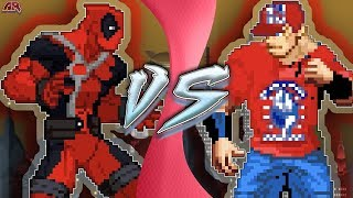 DEADPOOL vs JOHN CENA! (Deadpool 2 Movie Animation) | CARTOON FIGHT CLUB!