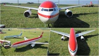 LTU TURBINE FAILURE RC MODEL AIRLINER A-330-300