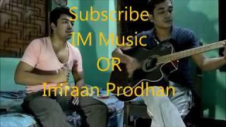 bhojo gobindo(Rohaan) live| #IMMusicc | again with Imraan by cover Ore manwa re
