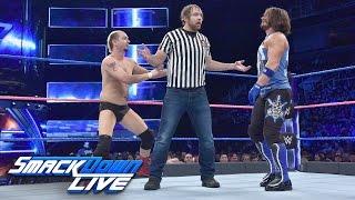 James Ellsworth vs. AJ Styles – Gastringrichter Dean Ambrose: SmackDown LIVE, 11. Oktober 2016