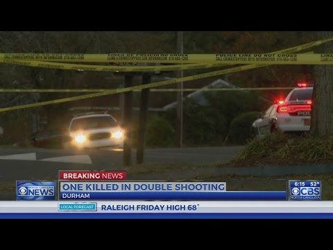 Man dies in Durham double shooting