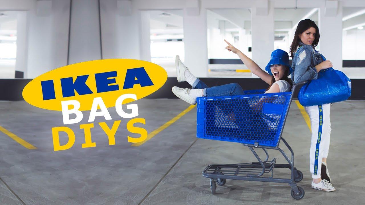 c2b2d34b4a4 ACTUALLY LEGIT IKEA BAG DIYS - YouTube