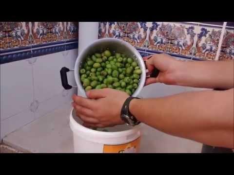 Como hacer aceitunas