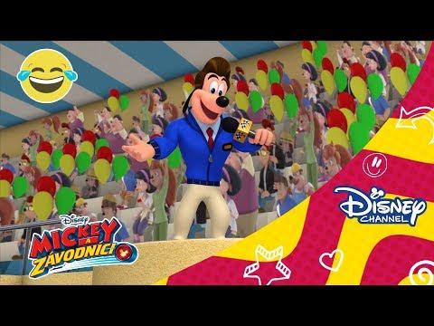 Mickey a závodníci | Kukačenka závodí! - Sleduj o víkendech…