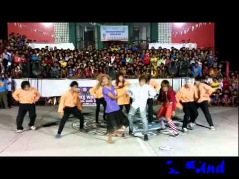 ♫♫ Cristo Rey, Capas TArlac/Dance WAR/ Boys In Town / 10/02/2014 ♫♫