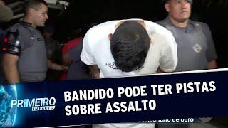 SP: bandido pode ter envolvimento no assalto do aeroporto de Guarulhos | Primeiro Impacto (08/08/19)