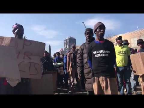 Reclaimers March in Johannesburg - TrolleyPusha_TV (13July2017)