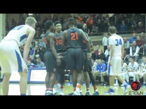 Evanston Wildkits Basketball 54-37 victory against New Trier - 2016