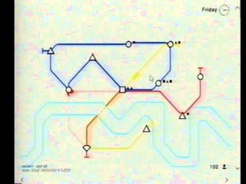 Gabe plays Mini Metro (Alpha) 1 - Cycles Strategy