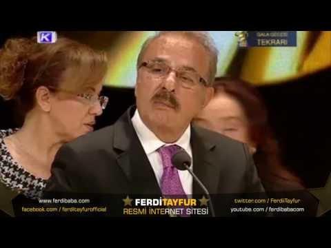 Türkiye Müzik Ödülleri - 2013 Onur Ödülü Ferdi Tayfur'un