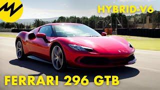 Ferrari 296 GTB (2021) | Ist ein Hybrid-V6 noch ein echter Ferrari?