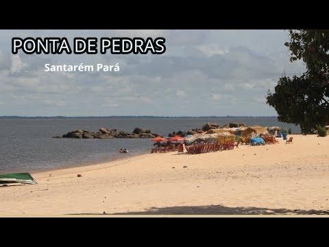Vale a pena conhecer praia de Ponta de Pedras, Santarém Pará – Turismo e Viagem ep 01