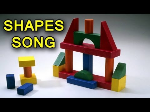 Shapes Song - Shapes Songs for Children - Kids Songs by The Learning Station
