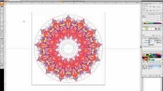 Creating a Kaleidoscope-like Shape in Adobe Illustrator CS3