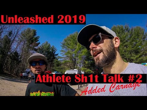 UNLEASHEDxQuebec 2019 Athlete Sh1t Talk #2 (includes Carnage)