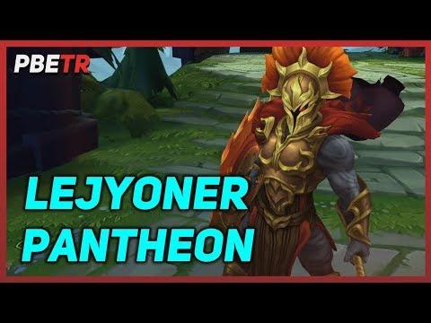 Lejyoner Pantheon 2019 - Kostüm Tanıtımı | League of Legends
