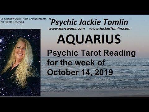 aquarius weekly tarot october 14 2019
