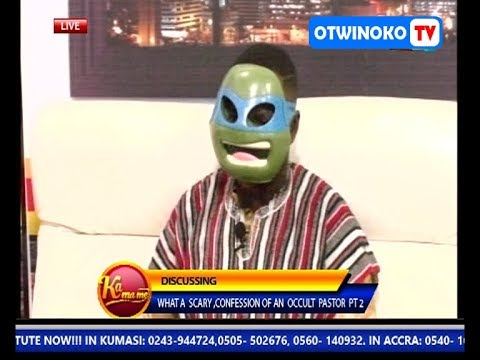 OTWINOKO TV : WHAT A SCARY CONFESSION OF AN OCCULT PASTOR (PART 3)