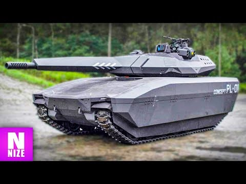 Wie Panzer in der Zukunft aussehen werden!