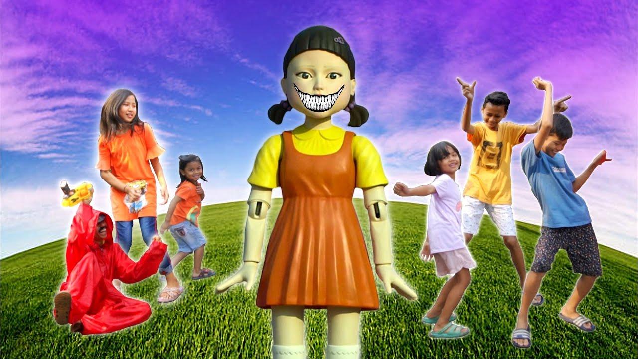 AWAS ADA SQUID GAME!!!|TANTANGAN VIRAL LUCU DAN NGAKAK | Princess Rara
