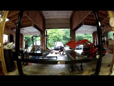 Start to Finish - 4 Post Atlas Garage Pro EXT 8,000 lb Auto Lift Installation