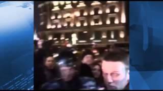 Протестующего против приговора «болотным» Навальног