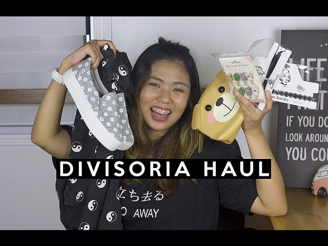 Divisoria Haul - Clothes, Shoes, Chokers and more!