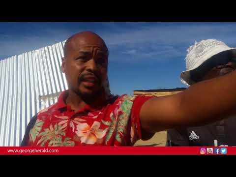 Municipal Law enforcement demolish shacks